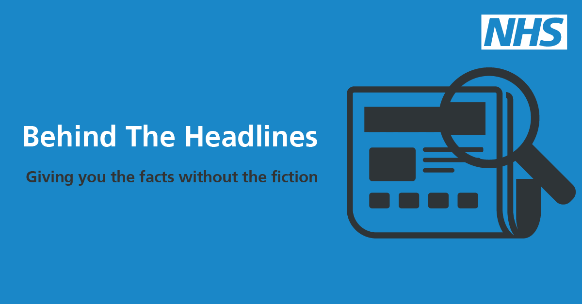NHS behind the headlines